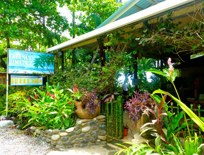 Cabinas JImenez a beautiful mid range hotel on the Osa Peninsula close to Corcovado National Park