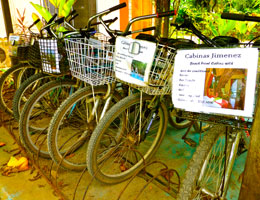 Free Bikes at the Cabinas