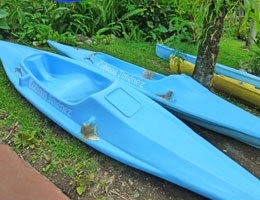 Free Kayaks at Cabinas Jimenez